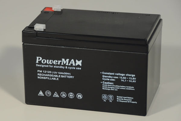 Akumulator 12Ah/12V - PowerMax