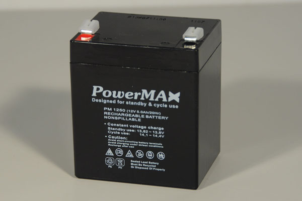 Akumulator 5Ah/12V - PowerMax