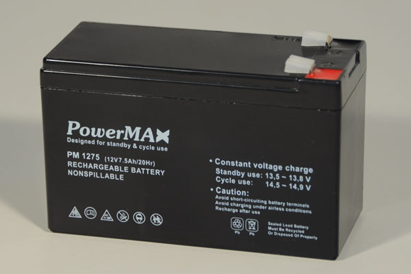 Akumulator 7,5Ah/12V - PowerMax